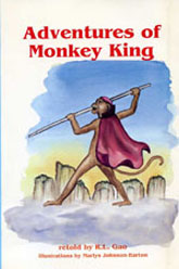 [cover of Monkey King]